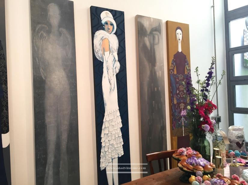 Valentina De Martini paintings