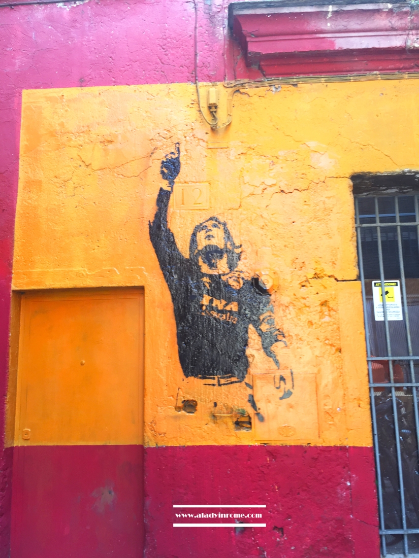 Francesco Totti mural
