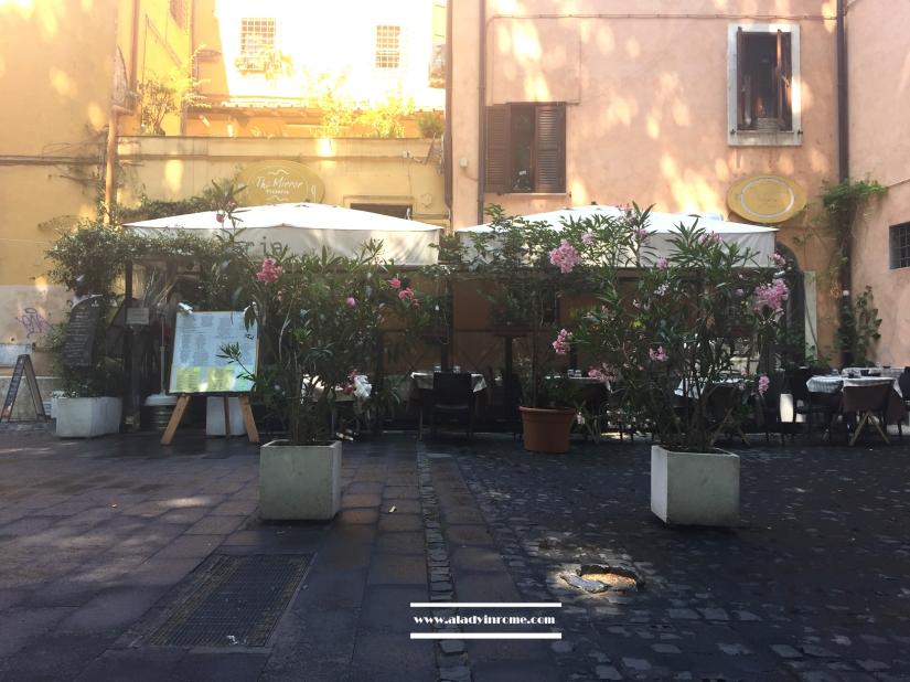 Trastevere, Piazza Sidney Sonnino