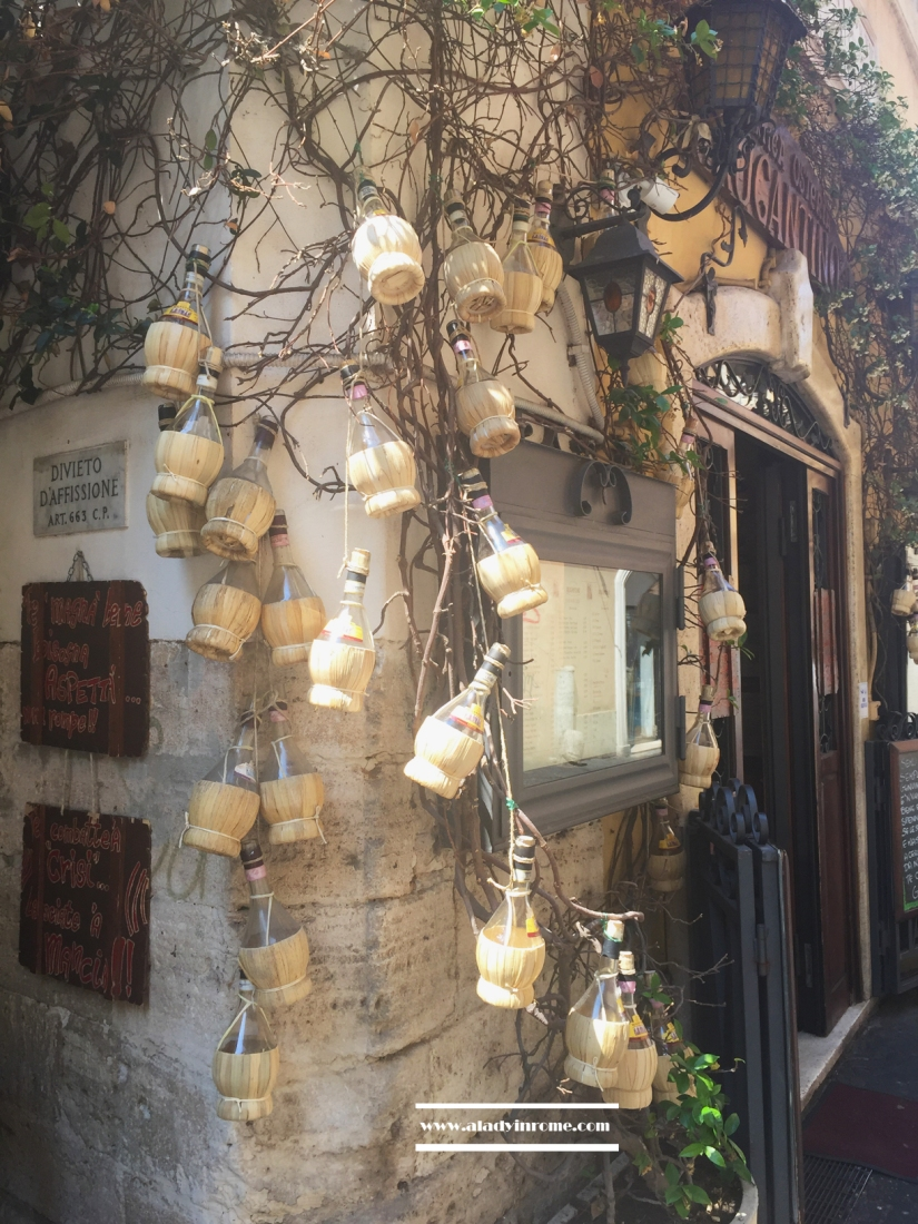 Trastevere, Antica Osteria Rugantino