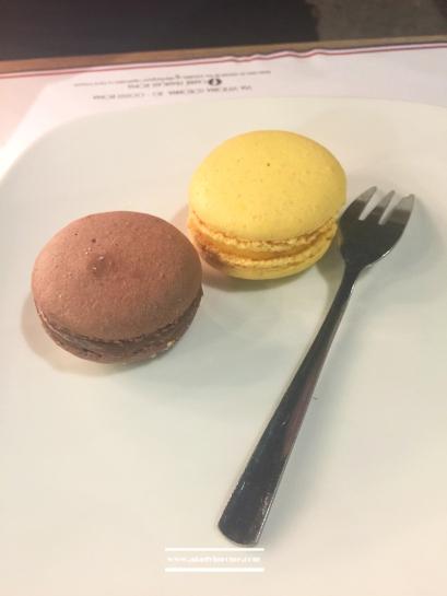 Macarons at L'Ephémère